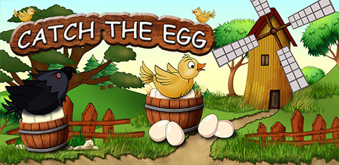 Catch the eggs, android game