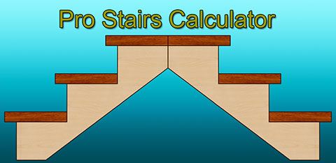 Fast stairs calculator, android mobile app