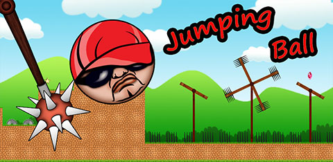 Zupman jumping ball, android game